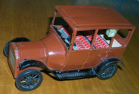 1915 Ford tin litho car from Japan